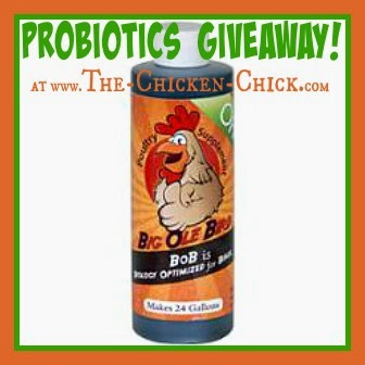 Big Ole Bird Poultry Probiotics and The Chicken Chick celebrate National Poultry Day March 19th with a Giveaway-palooza
