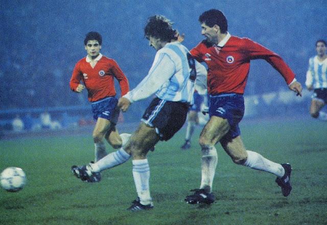 Chile y Argentina en Copa América 1991, 10 de julio