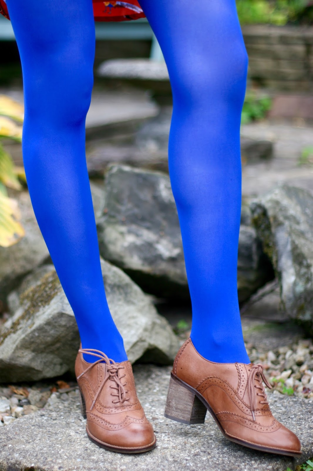 Cobalt blue tights | Fake Fabulous