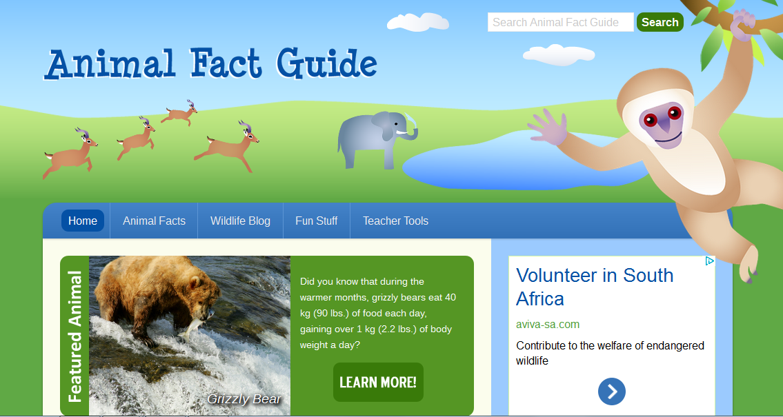 Blok888: Top 10 Best Educational Animal Websites for Kids