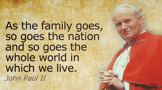 """Pope John Paul Ii Quotes Rorate Cæli John Paul Ii's """"Letter To Families""""—Remember That One"""