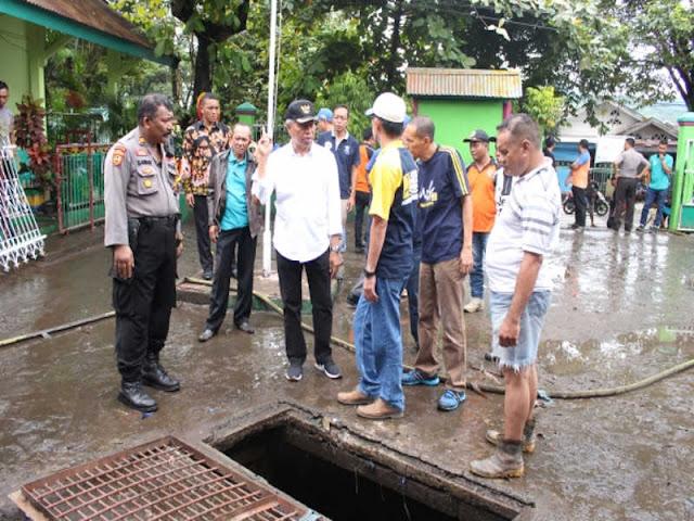 Burhan Abdurahman Antisipasi Terulangnya Banjir di Kota Ternate