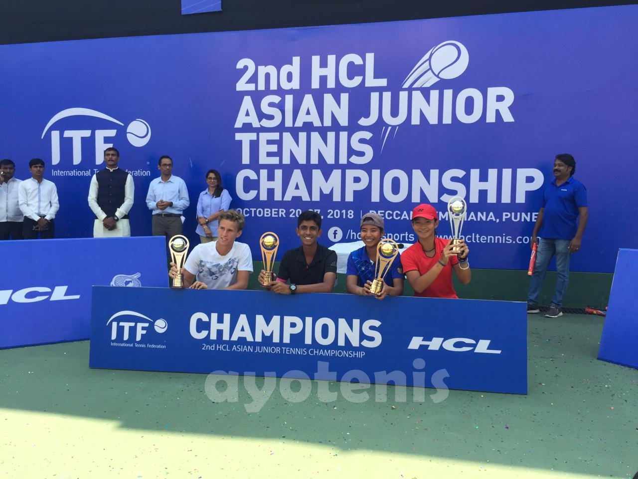 Priska Madelyn Nugroho Runner up Turnamen ITF India Grade B1