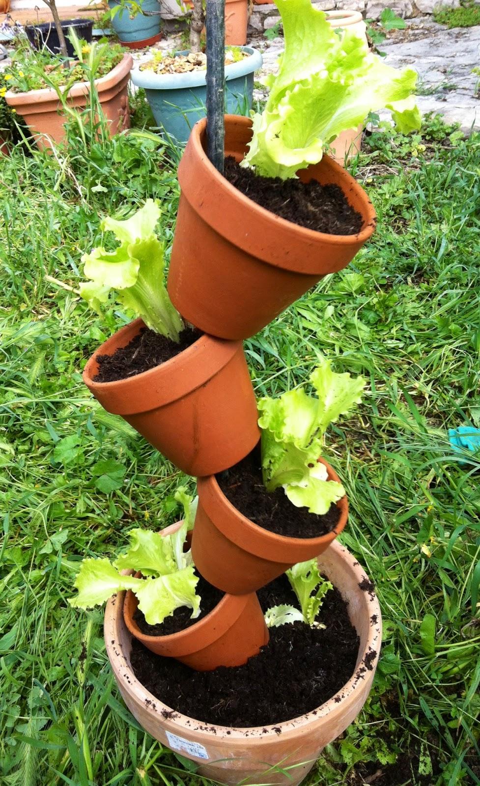 diy mon totem salade initiales gg. Black Bedroom Furniture Sets. Home Design Ideas
