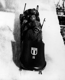 Eugenio Monti led the Italian quartet to a gold medal in the 1968 Winter Olympics in Grenoble