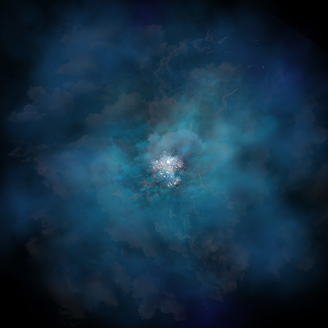 Young galaxy's halo offers clues to its growth and evolution