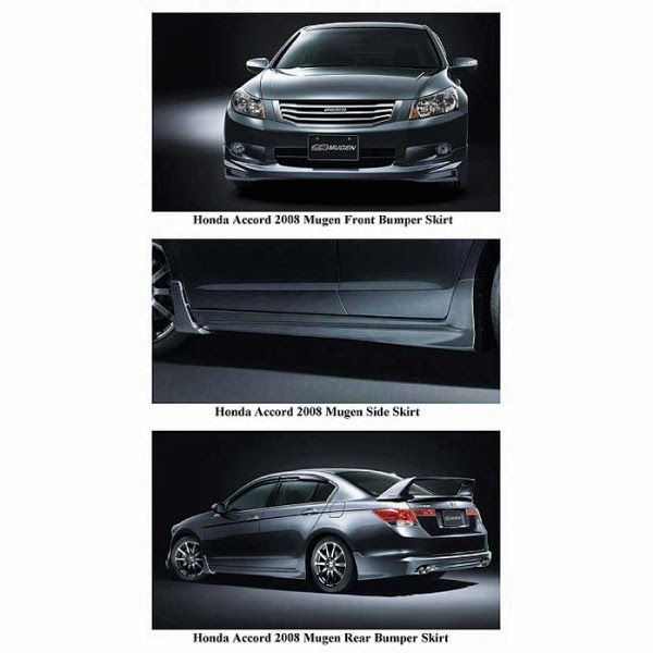 Bodykit Honda Accord Mugen 2009-2011