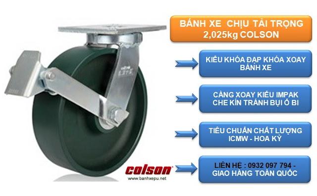 Bánh xe thép đúc siêu tải trọng 2,025kg | 7-10679-279BRK1 www.banhxepu.net