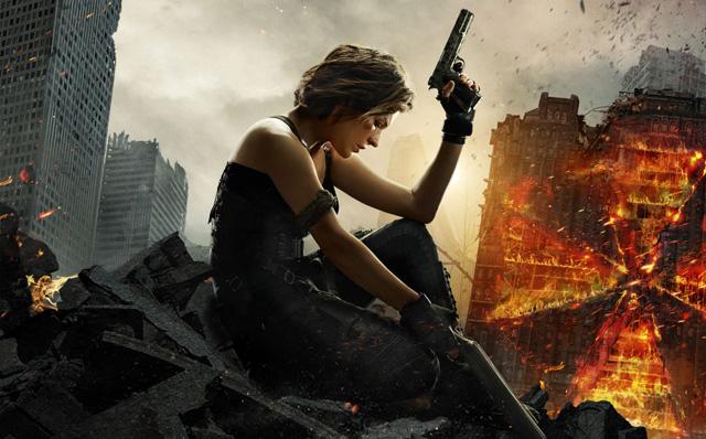 Póster animado de 'Resident Evil: El capítulo final'