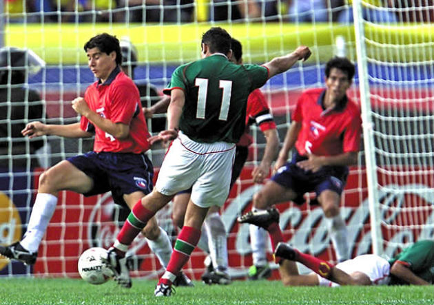 Chile y México en Copa América 2001, 22 de julio