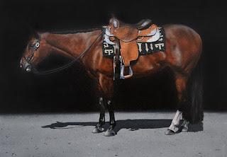 cuadros-de-caballos-fotorrealismo-oleo-pinturas  caballos-pinturas-fotorrealismo