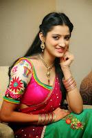 South Indian Actor Richa Panai Half Saree Stunning Stills