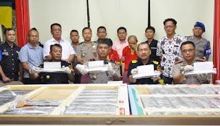 Lagi Lagi China, Bea Cukai Batam Berhasil Gagalkan Penyelundupan 26 Kg Sabu Asal China yang disembunyikan di Lukisan Bunda Maria - Commando