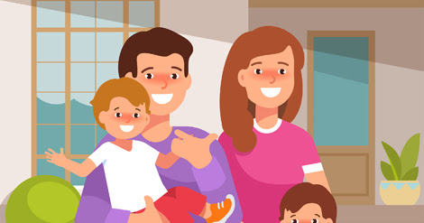 You're Never Poor When You Have Family. Celebrate Them With 2 Great Clipart Collections