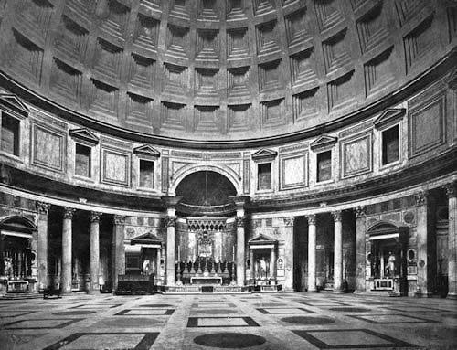 The pantheon in rome italy netra ananda for Roma interior design