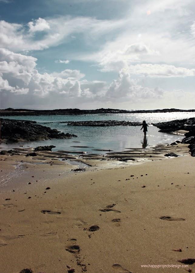 Fuerteventura: playa de los lagos en el cotillo