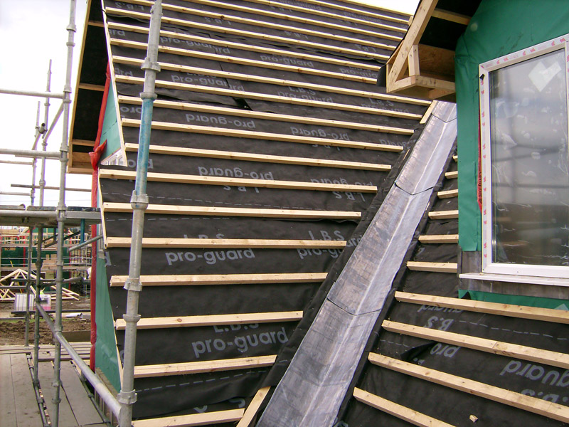 Roof Battens Amp Breather Type Underlay And Roof Battens