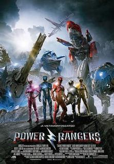 Cartel oficial español: Power Rangers