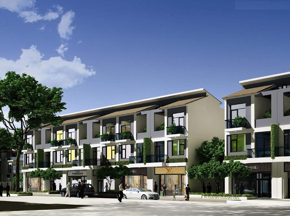 Shophouse dự án Foresa Villa Tasco