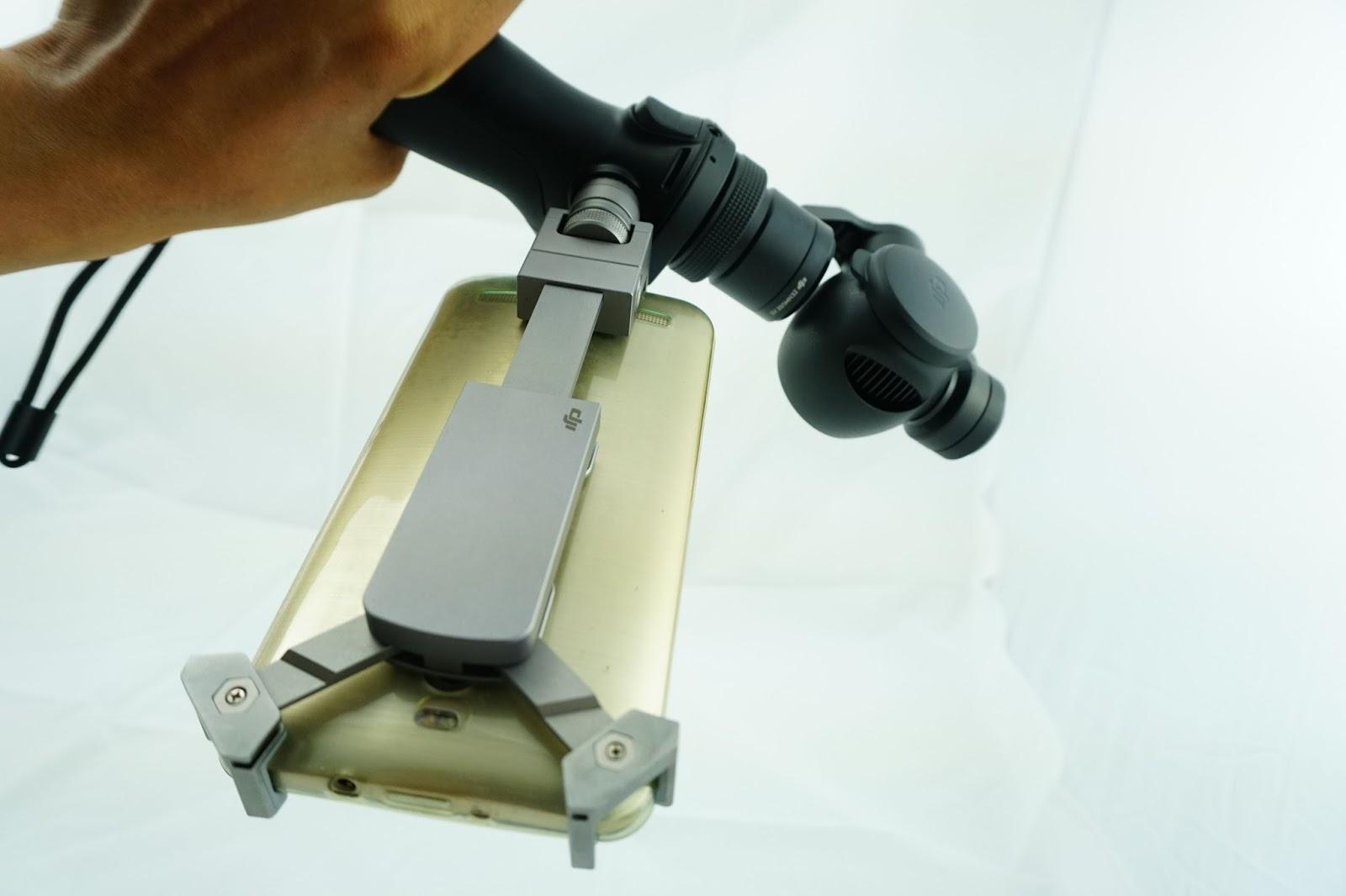 DJI Osmo Camera là thiết bị quay bán chuyên nghiệp tốt nhất hiện nay