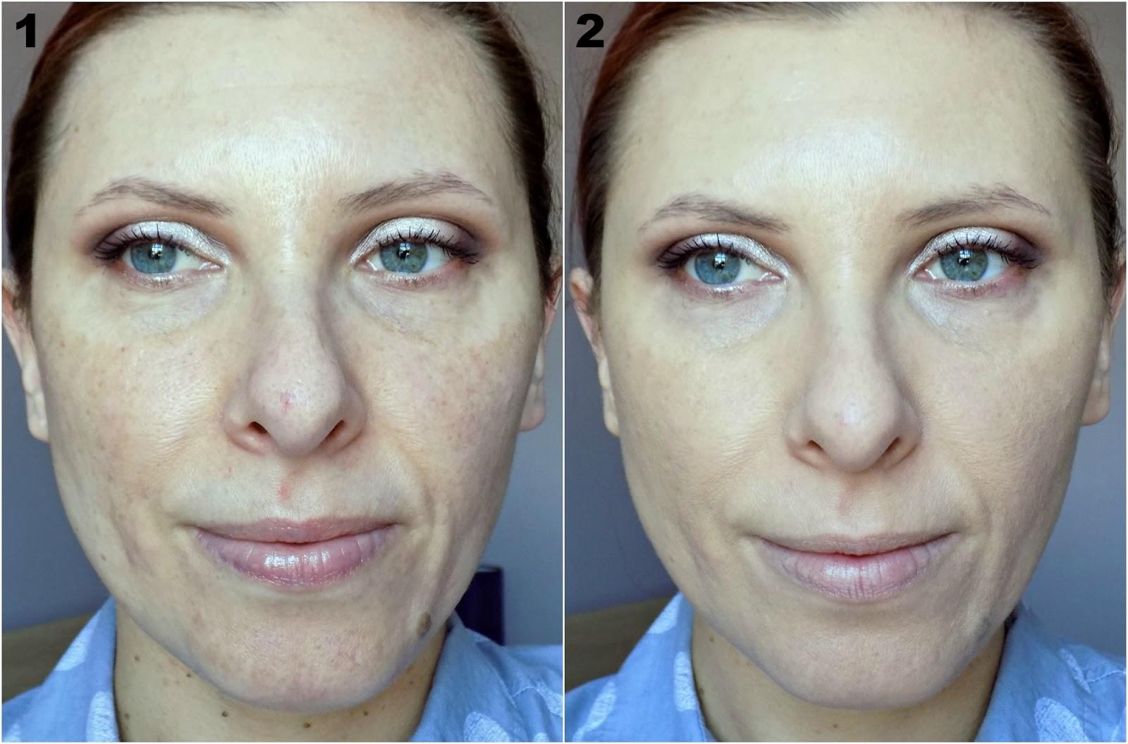 NARS Velvet Matte Skin Tint before & after photos