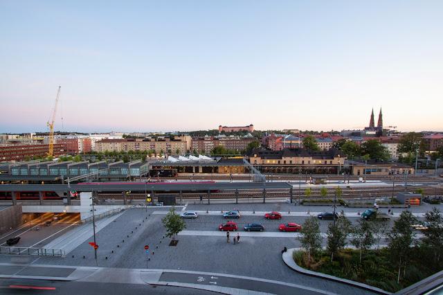 Stazione nei dintorni del Radisson blu-Uppsala