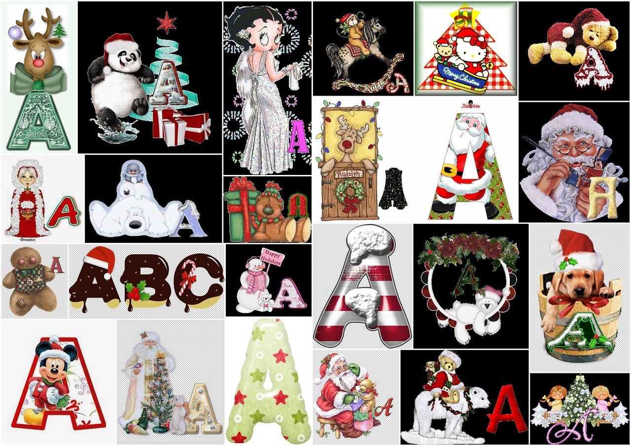 Christmas Alphabets