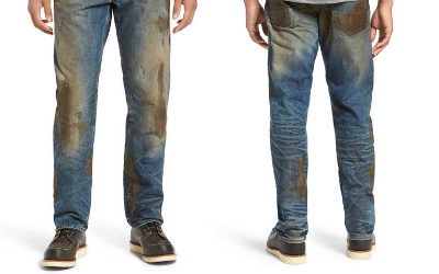 The $425 dirty jeans from Nordstrom.
