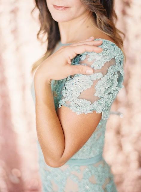 vestido invitada azul serenity
