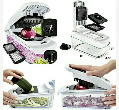 Fullstar Fruit Cutter - Food Chopper - Vegetable Slicer and Spiralizer