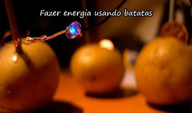 ENERGIA NAS BATATAS