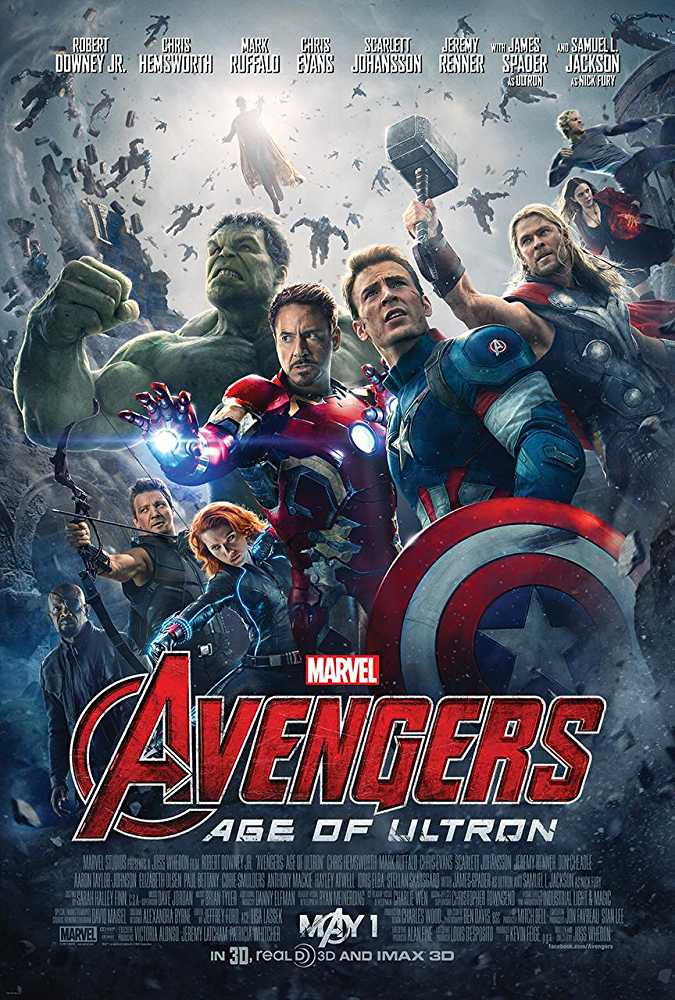 Poster Avengers: Age of Ultron 2015 Full Movie Download 300MB Hindi