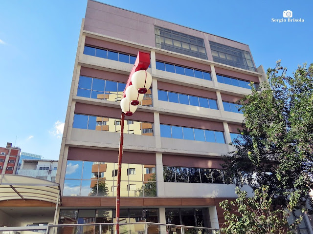 Vista ampla do hospital Beneficência Nipo-Brasileira de São Paulo - Liberdade - São Paulo