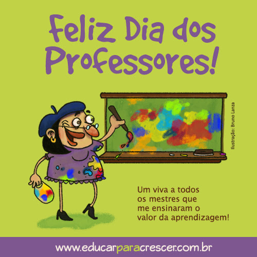 Feliz Dia do Professor