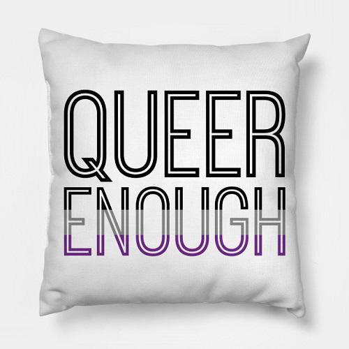 Heteroromantic asexual queer