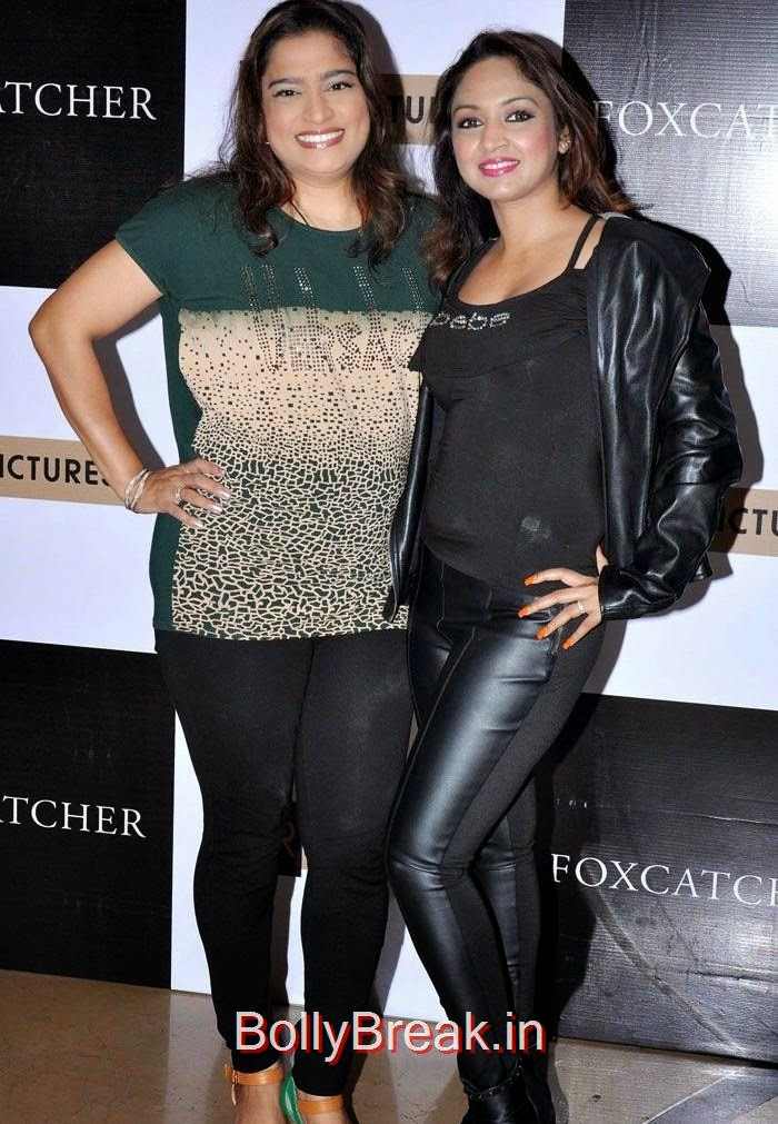"Ekta Jain, Marisa Verma, Komal Jha, Yuvika Chowdary At ""Foxcatcher"" Premiere"