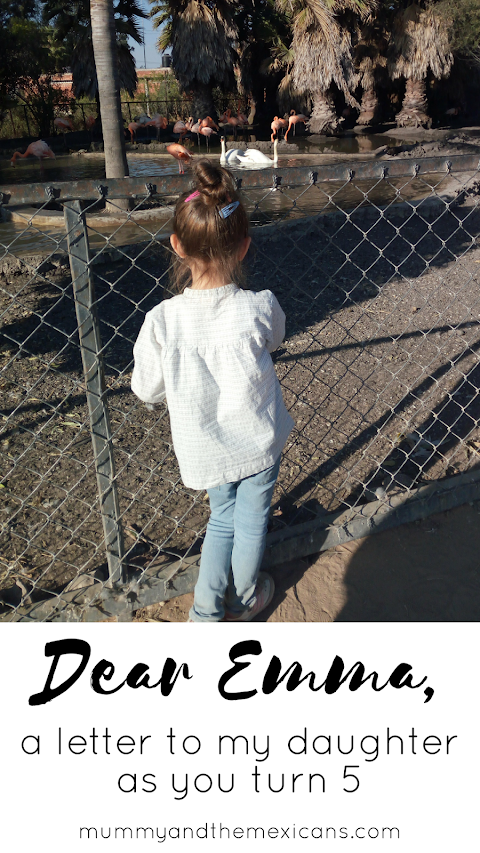 Dear Emma (a letter to my daughter as you turn five)