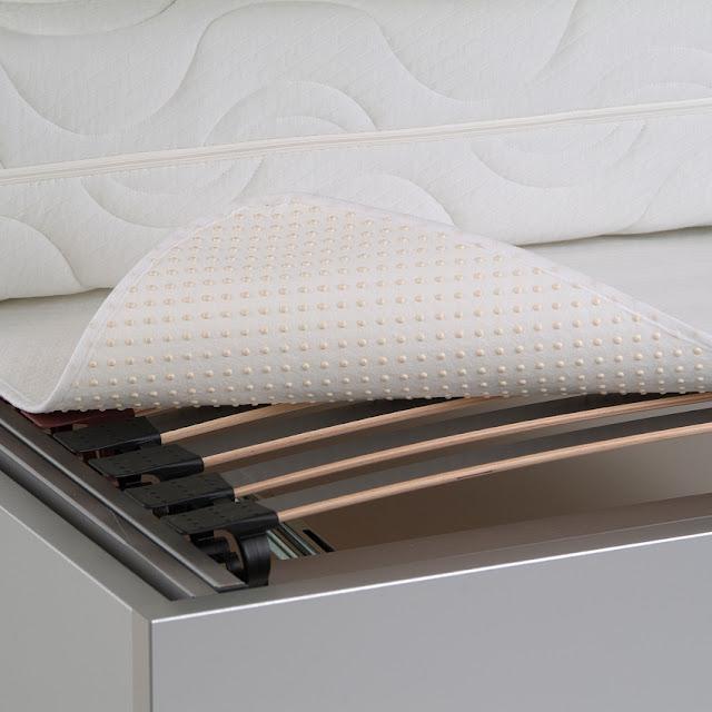 BNP Matratzenunterlage BRECO-LUX Pünktchenschoner 60°C Wäsche rutschfest 1B-Ware