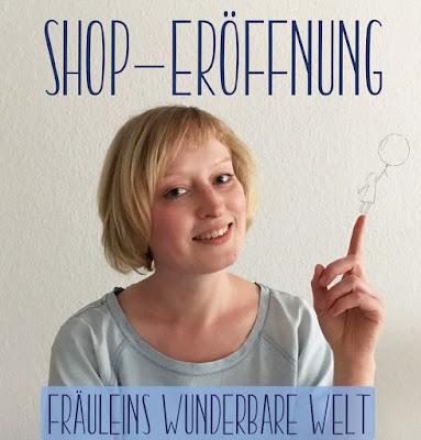Shop Eröffnung Dawanda Fräuleins wunderbare Welt Logo Mädchen Ballon Leichtigkeit Entschleunigung