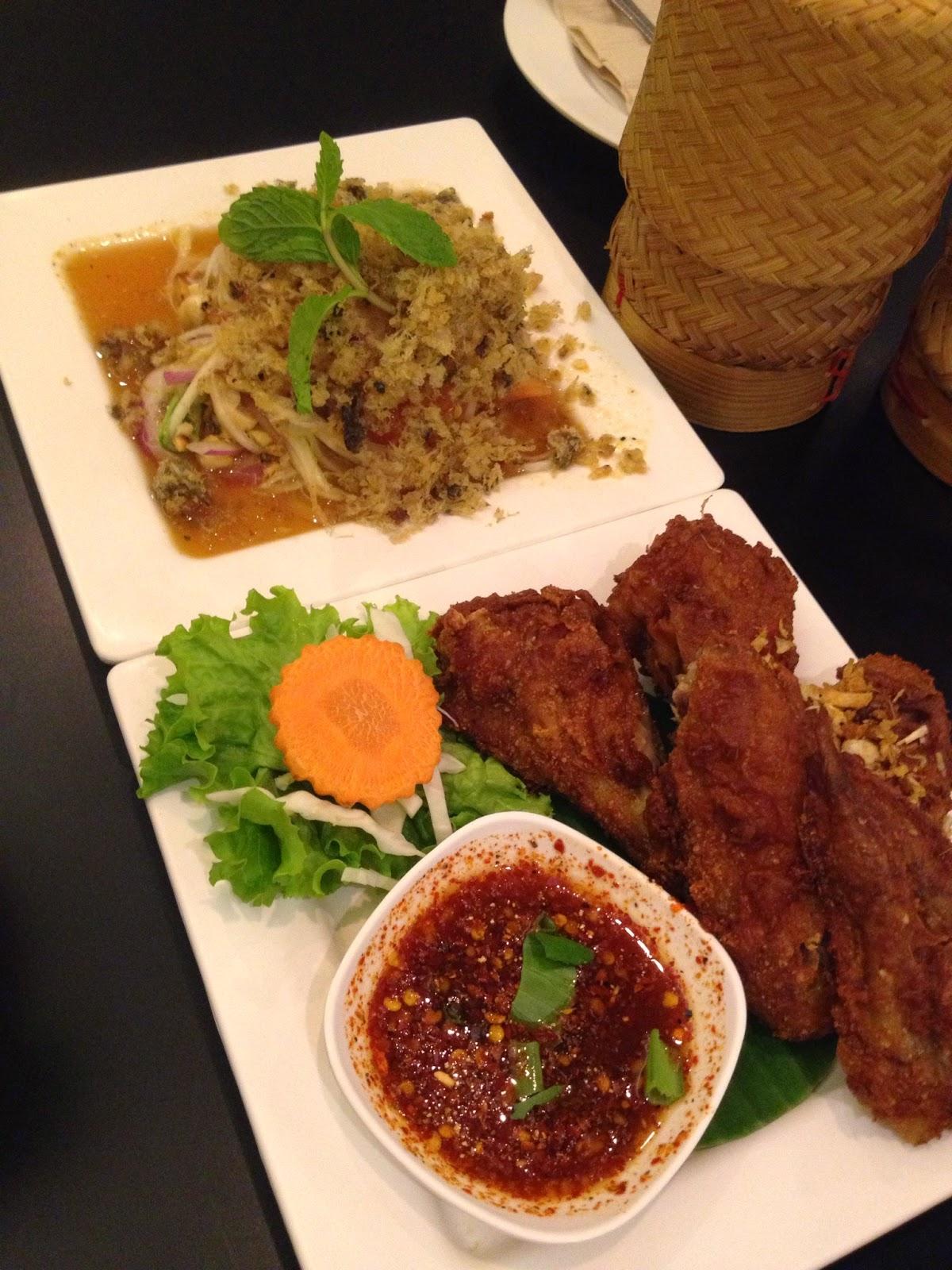 Bangkok - Fried chicken wings