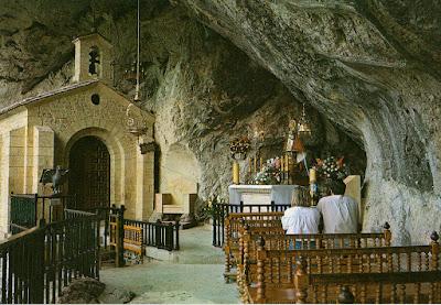 Virgen de Covadonga, postal de Alarde, 1989