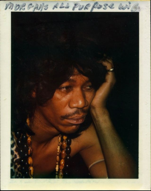 Amazing Polaroids Of Morgan Freeman During The Filming Electric Company In 1970s