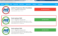 Unduh Updater Aplikasi PMP (Peningkatan Mutu Pendidikan) Versi 1.5