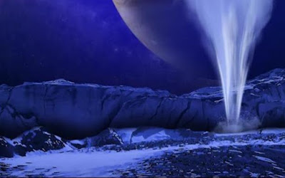 NASA Menemukan Sumber Air Memancar di Europa