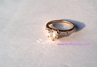Cincin Xuping Diamond Oneside
