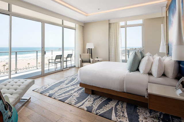 At this Huntington Beach, CA hotel, Pasea Hotel and Spa, guests can enjoy premier accommodations with picturesque ocean views. Plan your next trip to this magnificent hotel, book it now, here!