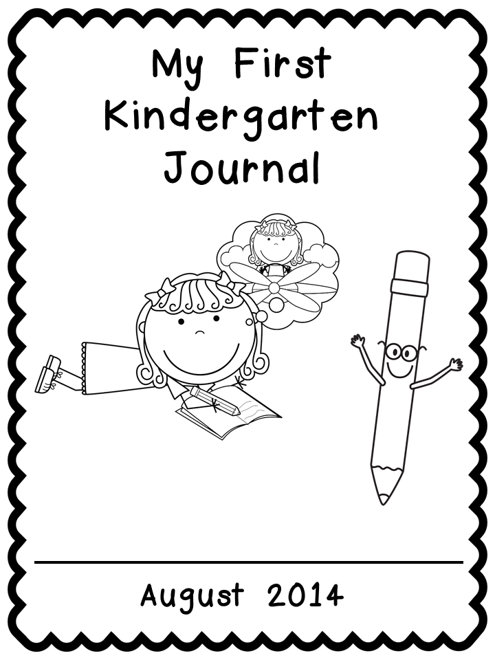 Kindergarten Celebration: FREE Journal Covers