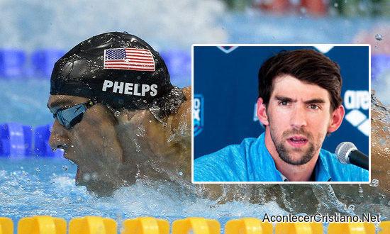 Nadador olímpico vence el suicidio con ayuda de Dios