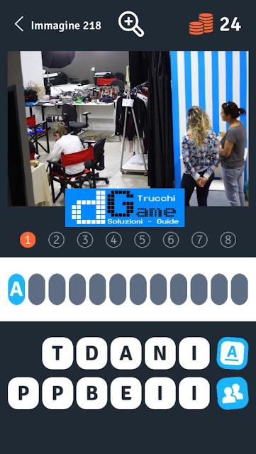 Soluzioni 1 Immagine 8 Parole soluzione livello 211-220