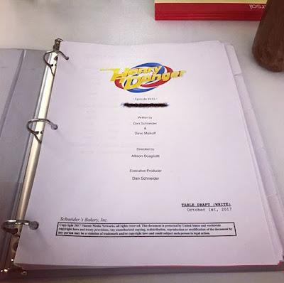 "Allison Scagliotti director of ""Henry Danger"" episode 4x15 script"